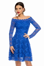 rochii de banchet albastre