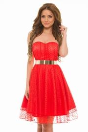 rochii de banchet rosii