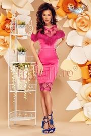 rochii de banchet roz