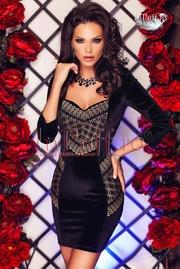 rochii de seara din catifea online