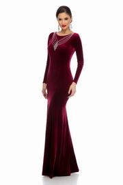 rochii din catifea lungi