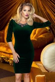 rochii din catifea verde smarald