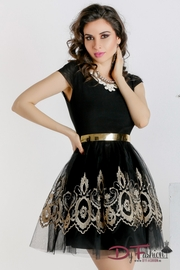 rochii negre scurte banchet