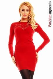 pulovere dama rosii