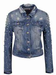 jachete de blugi dama cu tinte