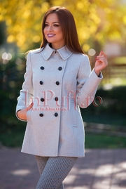 palton dama iarna elegant