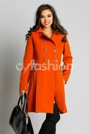 palton dama iarna rosu