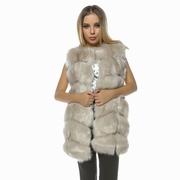 veste dama de blana lunga