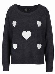 pulovere cu model inimioare