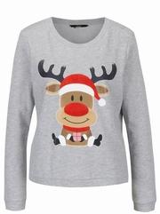 pulovere dama cu tematica de craciun