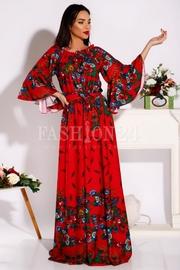 rochii colorate cu flori
