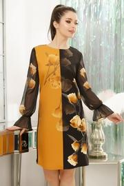 rochii cu flori galbene