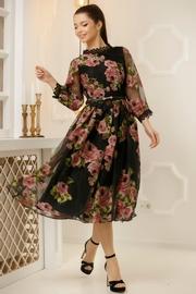 rochii cu imprimeu floral de ocazie