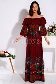 rochii cu imprimeu floral elegante