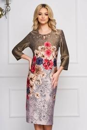 rochii cu imprimeu floral midi