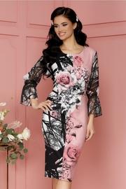 rochii cu trandafiri