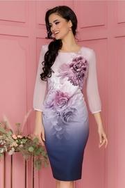 rochii de ocazie cu imprimeuri florale