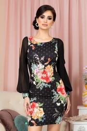 rochii de seara cu imprimeuri florale