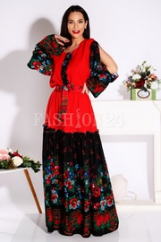 rochii de vara lungi cu flori