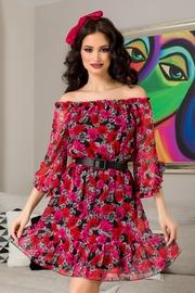 rochii de vara scurte cu flori