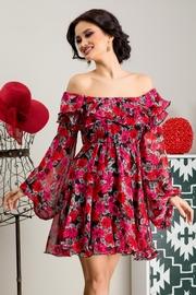rochii de zi cu imprimeuri florale
