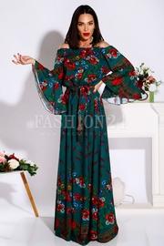 rochii din tafta cu flori