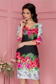 rochii elegante cu imprimeu floral