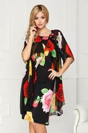 rochii elegante cu trandafiri