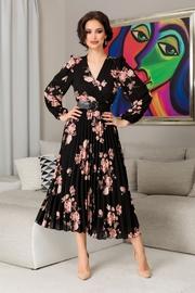 rochii elegante lungi cu flori