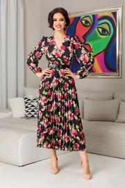 rochii lungi cu imprimeu floral