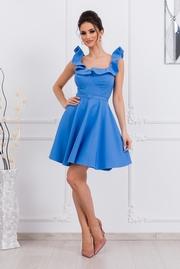 rochii de primavara scurte albastre