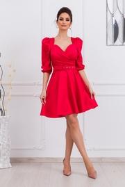rochii de primavara scurte rosii