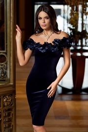 rochii de seara elegante din catifea