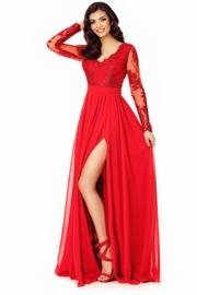 rochii elegante de seara din voal