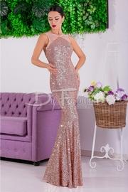 rochii elegante lungi cu paiete