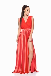 rochii elegante lungi rosii