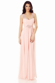 rochii elegante lungi roz