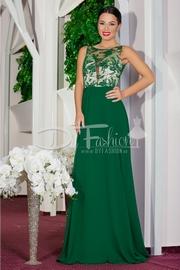 rochii elegante lungi verzi