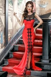 rochii lungi elegante cu crapatura