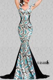 rochii lungi elegante din catifea
