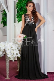 rochii lungi elegante negre