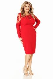rochii xxl elegante rosii